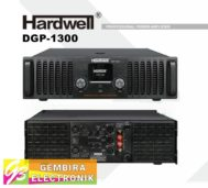 Power Hardwell DGP 1300 Amplifier Class H DGP1300