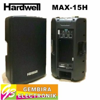 Speaker Active Hardwell Max 15H / 15 Inch Aktif