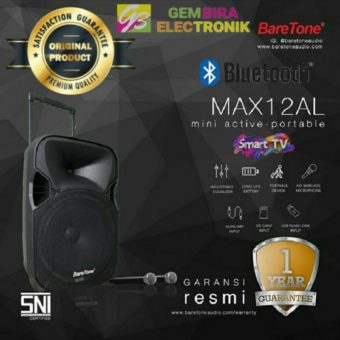 speaker aktif portable baretone 12 inch max12al