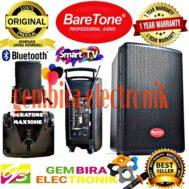 SPEAKER AKTIF BARETONE MAX10HE 10 INCH BLUETOOTH SPEAKER ORIGINAL